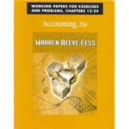 Working Papers Chapters 12-24 Accounting