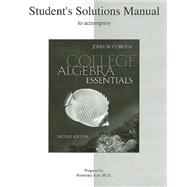 Student Solutions Manual t/a College Algebra Essentials