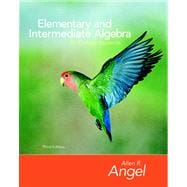 Elementary and Intermediate Algebra for College Students Value Package (includes Student Study Pack)