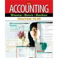 Accounting, Chapters 14-26, 24th Edition