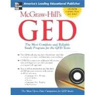 McGraw-Hill's GED w/ CD-ROM The Most Complete and Reliable Study Program for the GED Tests