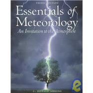 Essentials of Meteorology With Infotrac