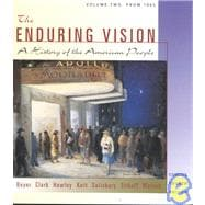 The Enduring Vision Vol. 2: from 1865 Concise