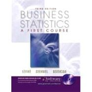 Business Statistics: A First Course and CD-ROM