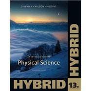 An Introduction to Physical Science, Hybrid (with Enhanced WebAssign Homework and eBook Printed Access Card)