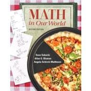 Combo: Math in Our World with MathZone Access Card