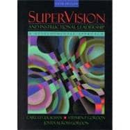 SuperVision and Instructional Leadership : A Developmental Approach