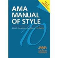 AMA Manual of Style A Guide for Authors and Editors  Special Online Bundle Package