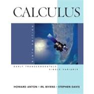 Calculus Early Transcendentals Single Variable, 9th Edition