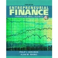 Entrepreneurial Finance - Finance for Small Business