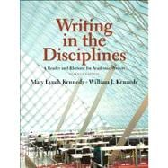 Writing in the Disciplines A Reader and Rhetoric Academic Writers with NEW MyCompLab -- Access Card Package