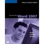 Microsoft Office Word 2007: Complete Concepts and Techniques