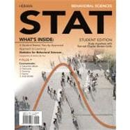 Behavioral Sciences STAT (with Review Cards and Psychology CourseMate with eBook Printed Access Card)