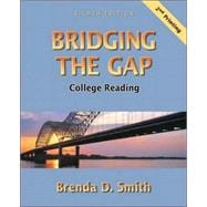 Bridging the Gap College Reading (with Study Card for Vocabulary)