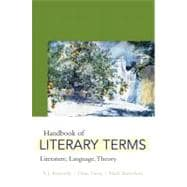 Handbook of Literary Terms : Literature, Language, Theory