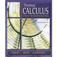 Thomas' Calculus : Early Transcendentals