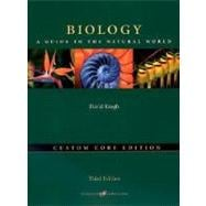 Biology : A Guide to the Natural World, Custom Core Media Update