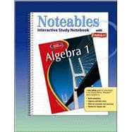 Glencoe Algebra 1, Noteables: Interactive Study Notebook with Foldables