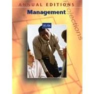Annual Editions: Management 05/06