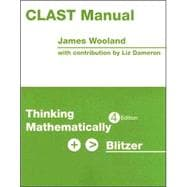 CLAST MANUAL: Thinking Mathematically