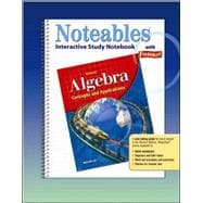 Algebra: Concepts and Applications, Noteables: Interactive Study Notebook with Foldables