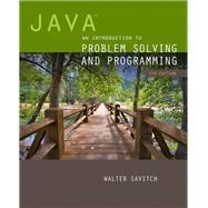 Java An Introduction to Problem Solving and Programming plus MyProgrammingLab with Pearson eText -- Access Card Package