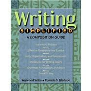 Writing Simplified: A Composition Guide Value Pack (includes Pearson Student Planner & English Simplified)