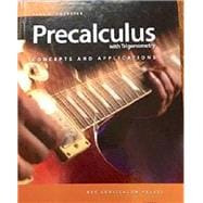 Precalculus with Trigonometry: Concepts and Applications Student Text + 6 Year Online License