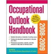 Occupational Outlook Handbook 2008-09 Edition