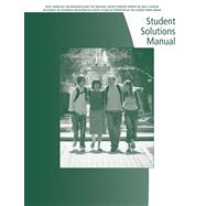 Student Solutions Manual for Cohen�s Precalculus: A Problems-Oriented Approach, 6th