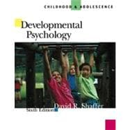 Developmental Psychology Childhood and Adolescence (with InfoTrac)