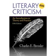 Literary Criticism An Introduction to Theory and Practice (A Second Printing)