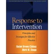 Response to Intervention Principles and Strategies for Effective Practice