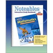 Mathematics: Applications and Concepts, Course 2, Noteables: Interactive Study Notebook with Foldables