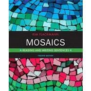 Mosaics Reading and Writing Sentences (with MyWritingLab Pearson eText Student Access Code Card)