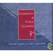 2 CD Set for Aldwell/Schachter's Harmony and Voice Leading, 3rd