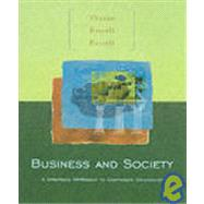 Business and Society : A Strategic Approach to Corporate Citizenship