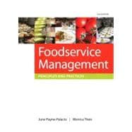 Foodservice Management Principles and Practices