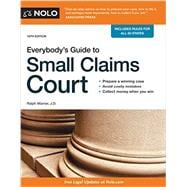 Everybody's Guide to Small Claims Court 9781413322170R