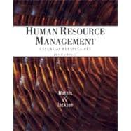 Cengage Advantage Books: Human Resource Management Essential Perspectives