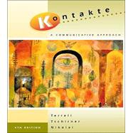 Kontakte:  A Communicative Approach  (Student Edition + Listening Comprehension Audio CD)