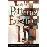 Decker's Patterns of Exposition 15