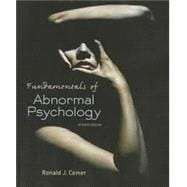 Fundamentals of Abnormal Psychology & PsychPortal Access Card (6 Month)