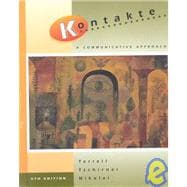 Kontakte:  A Communicative Approach (Student Edition + Listening Comprehension Audio Cassette)