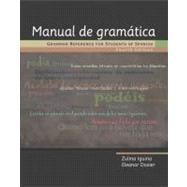 Manual de Gramatica : Grammar Reference for Students of Spanish