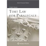 Tort Law for Paralegals 5e