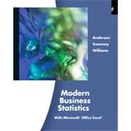 Modern Business Statistics with Microsoft� Excel�, 4th Edition