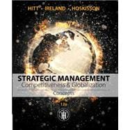 Strategic Management: Concepts Competitiveness and Globalization