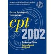 Current Procedural Terminology: CPT 2002 (Professional Edition, Spiral-Bound Version)