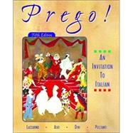 Prego! An Invitation to Italian (Student Edition + Listening Comprehension Audio CD)